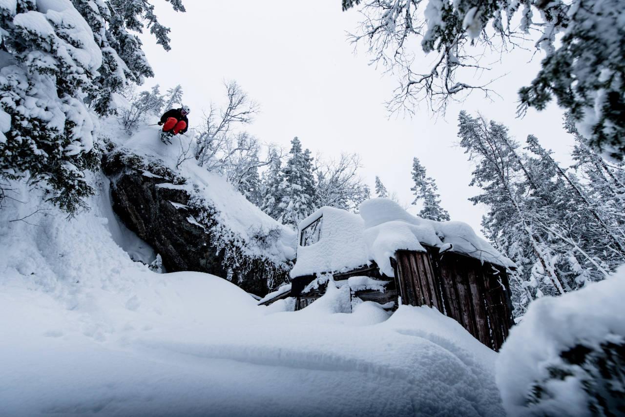 Gråkallen Døden Trondheim topptur snøpark vinterpark trøndelag ski randonee alpint snowboard fri flyt freeride skiinfo snø