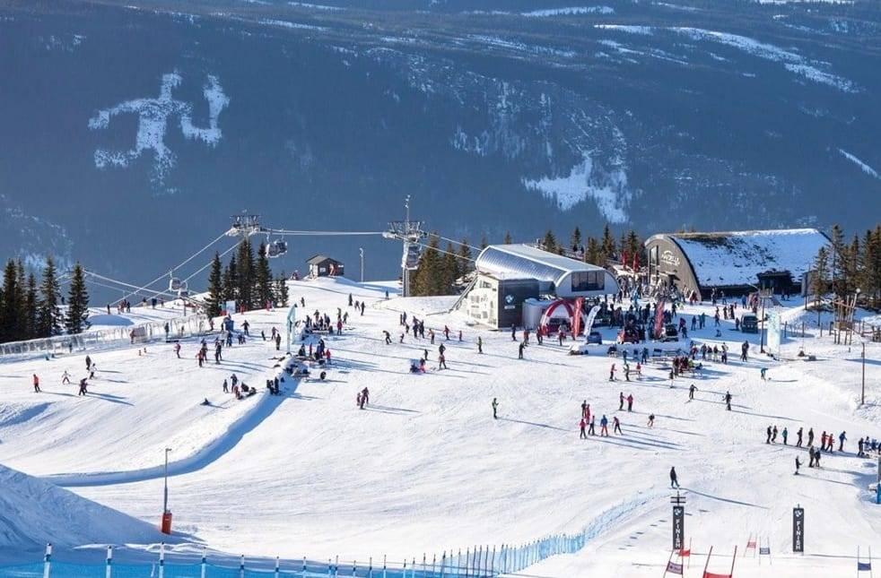 Hafjell ski alpint racing park