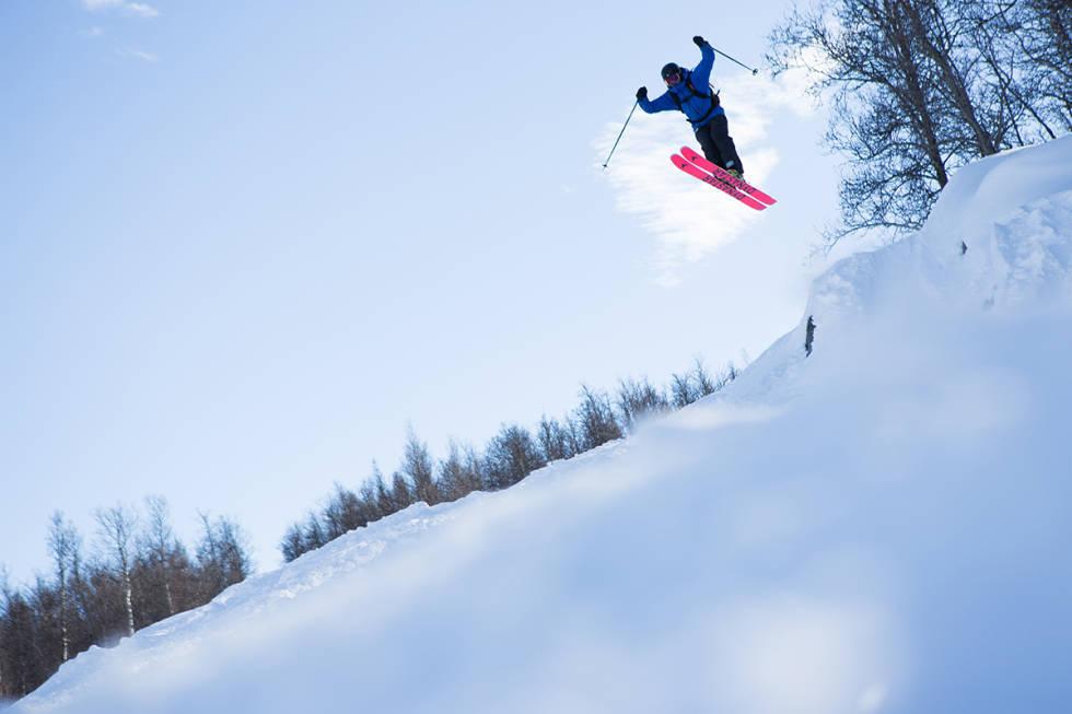 Hallingskarvet freeride frikjøring ski fri flyt guide alpint