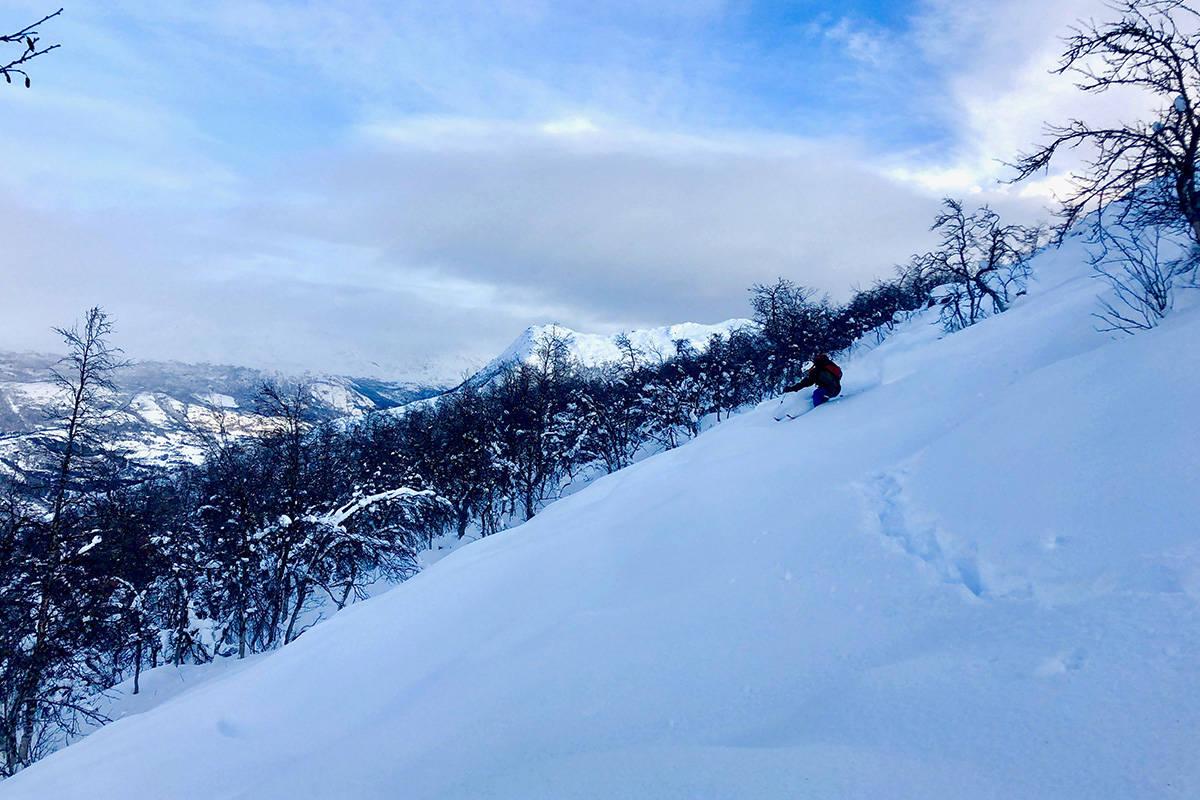 Skistar hemsedal topptur randonee offpiste off piste offpist pudder ski alpint snowboard