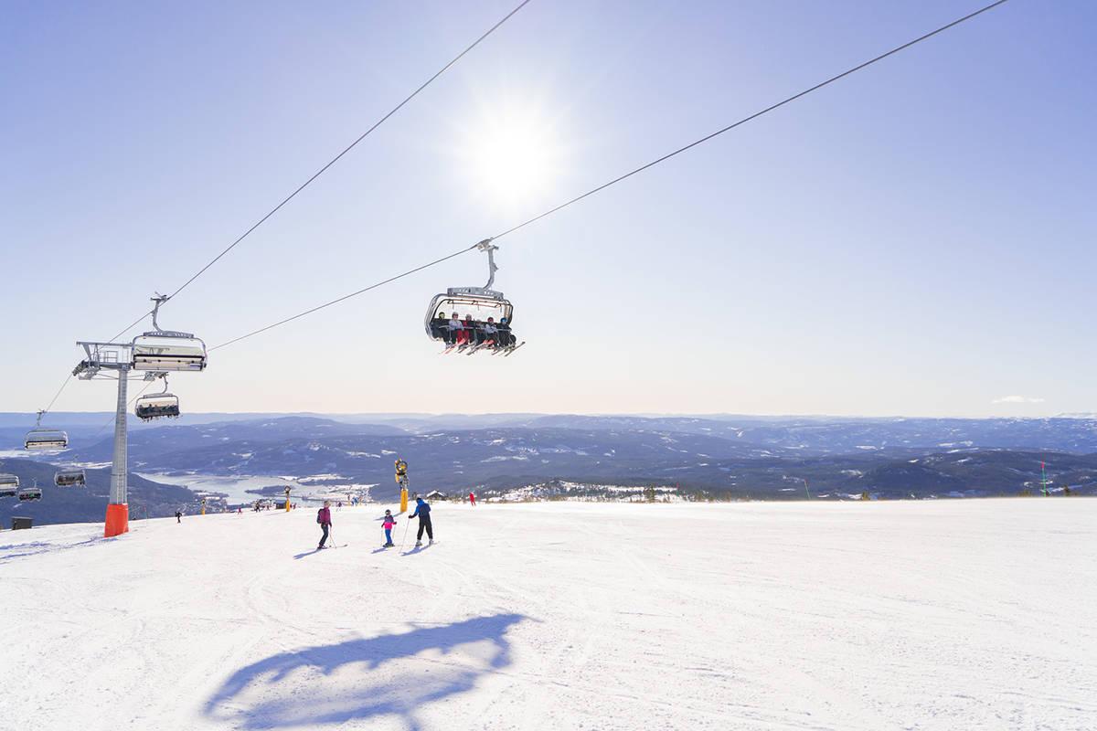 Norefjell skisenter sesongstart