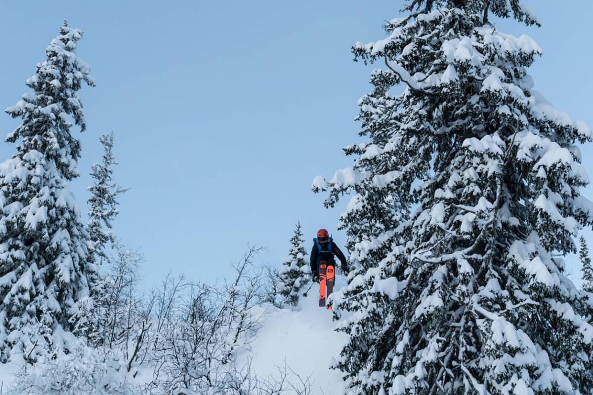 Høgevarde fjellpark fri flyt ski snowboard freeride skiinfo guide anlegg ski alpint