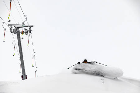 Høgevarde topptur randonee fri flyt guide pudder ski snowboard alpint freeride