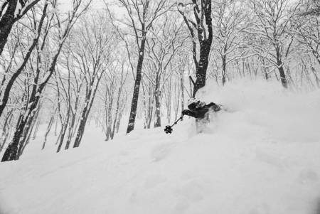 EN GOD START: Ida Elisabeth Nilsen tilbringer vinteren i Japan og Canada. De første ukene i Japan ble aldeles nedsnødd.