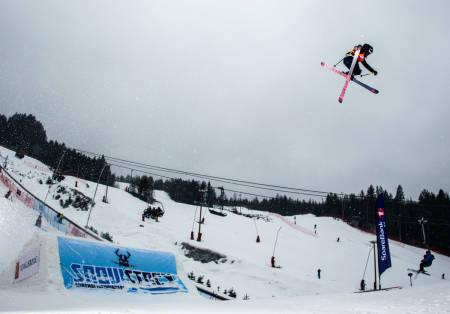 Kongsberg skisenter twintip jibb badasss of the year BAOTY