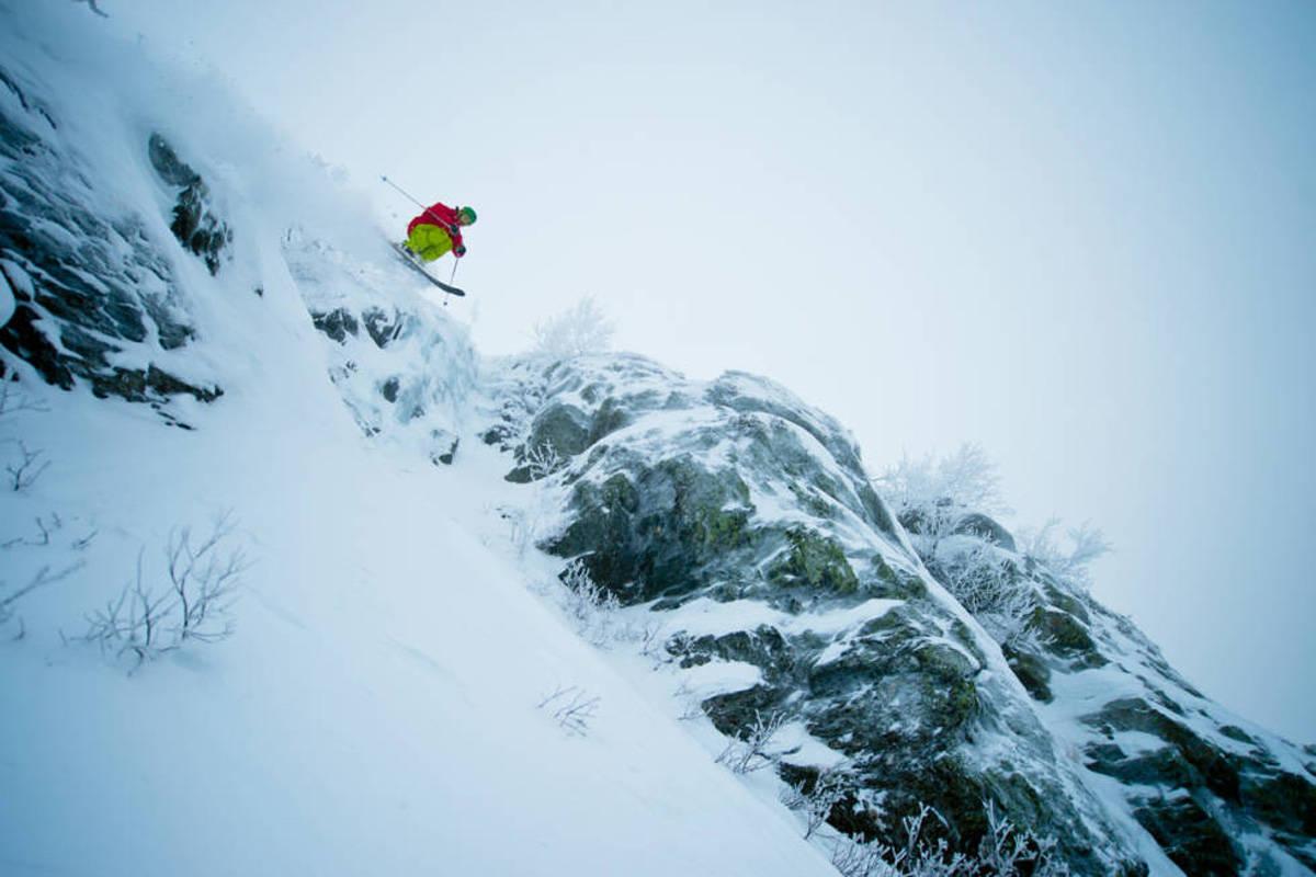 Lemonsjø lemonsjøen freeride snowboard alpint ski frikjøring pudder