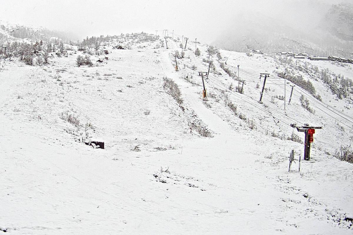 Eikedalen snø