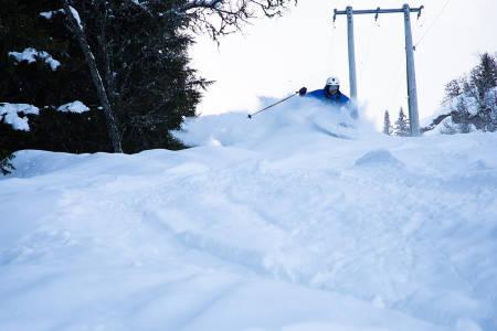 Henning Skjetne i Ål skisenter