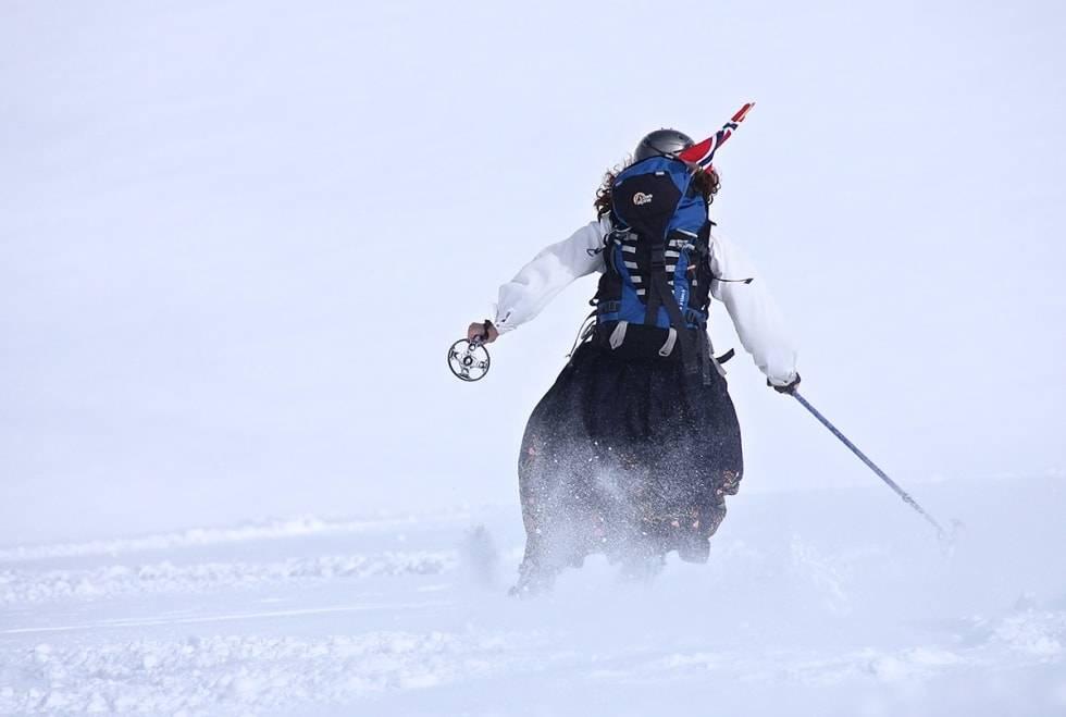 Nasjonaldagen ski skiheis