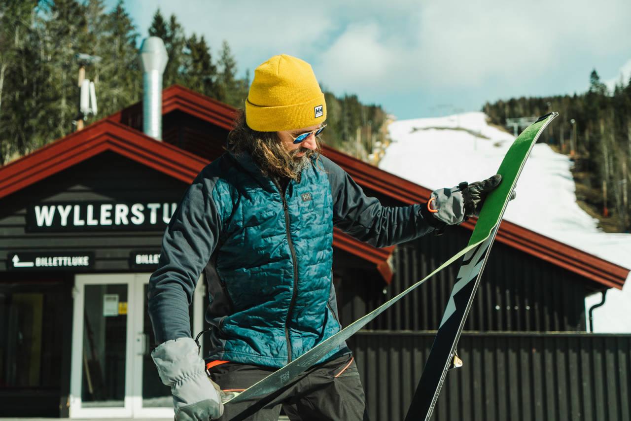 POSITIVE TIL RANDOUTØVERE: Både Oslo Vinterpark og Varingskollen Alpinsenter er positive til randoutøverne - så lenge de følger traseene og kun går i åpningstidene. Foto: Christian Nerdrum