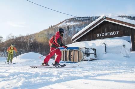 Rauland raulandsfjell vierli rauland skisenter alpint snowboard fri flyt guide snowboard ski freeride