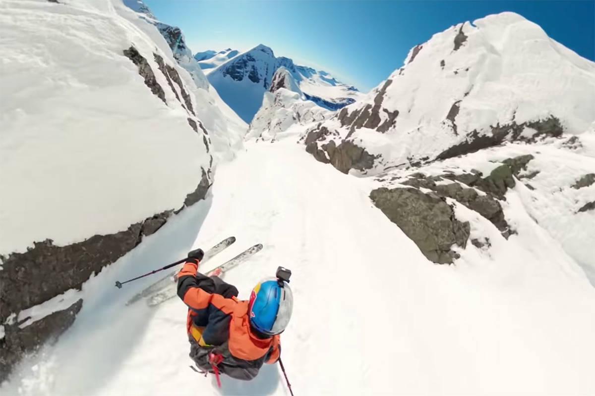 Riksgränsen skikjøring alpint freeride fri flyt