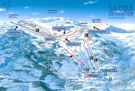Sauda topptur freeride BCC frikjøring pudder gondol ski alpint snowboard randonee