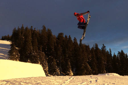 Sjusjøen park jibbing ski guide fri flyt