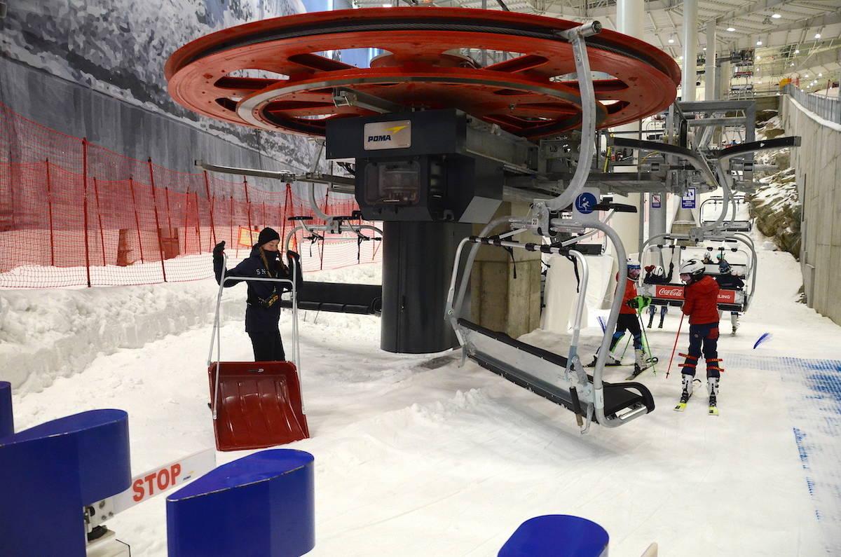 Snø lørenskog innendørs skianlegg
