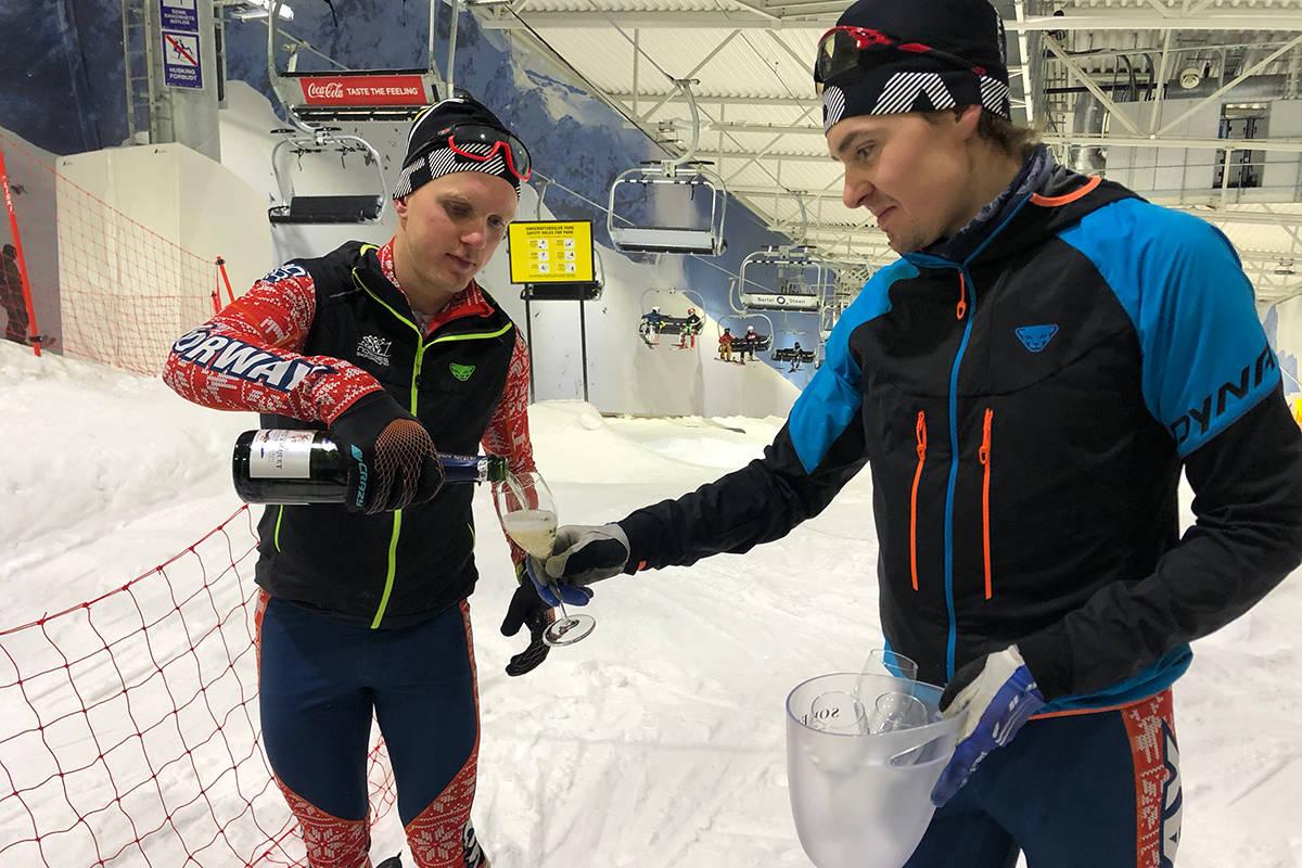 Everesting Snø Hans-Inge Klette Vegard Øie