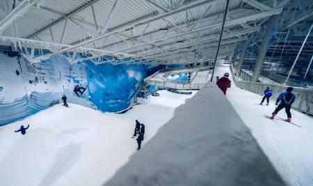 Snø Lørenskog innendørs