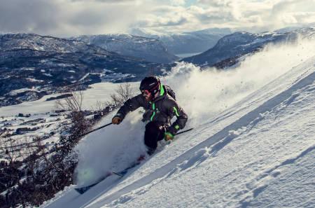 Sogn skisenter heggemyrane luster hafslo
