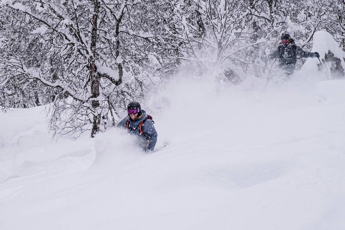 Sogndal skisenter pudder frikjøring freeride fri flyt