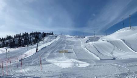 Valdres alpinsenter beitosølen jotunheimen aurdal skisenter løypekart alpint snowboard fri flyt guide snowboard ski freeride