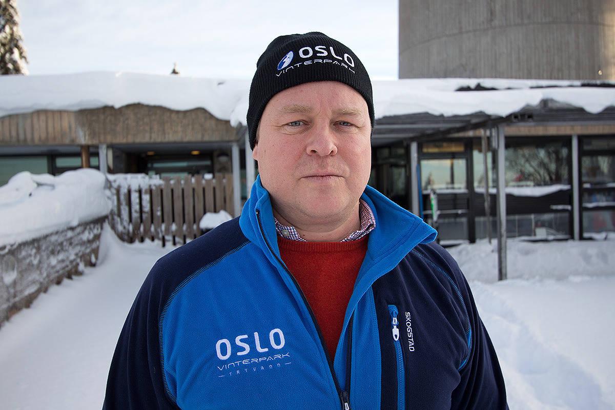SELGER: Espen Bengston i Oslo Snowpark vil kvitte seg med Varingskollen. Foto: Anders Holtet