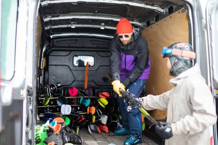 Henning Reinton skitest beste ski