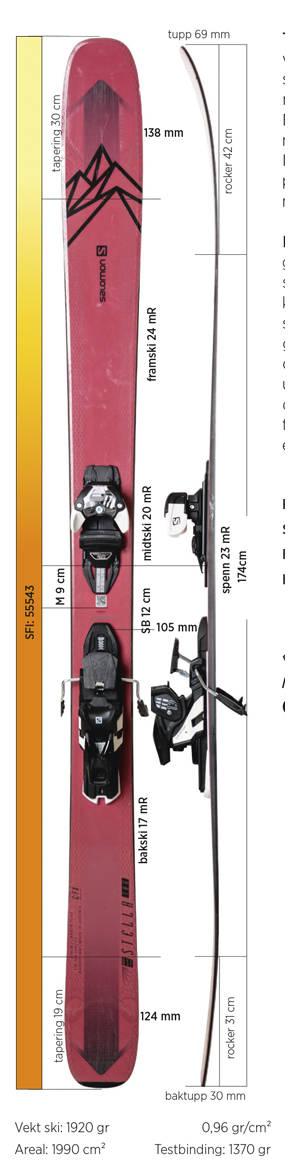 Test av Salomon QST Stella 106 2020