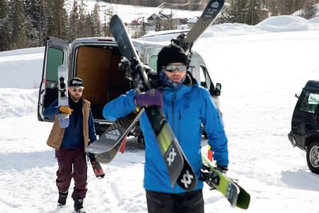 Test frikjøringsski skitest allsidige