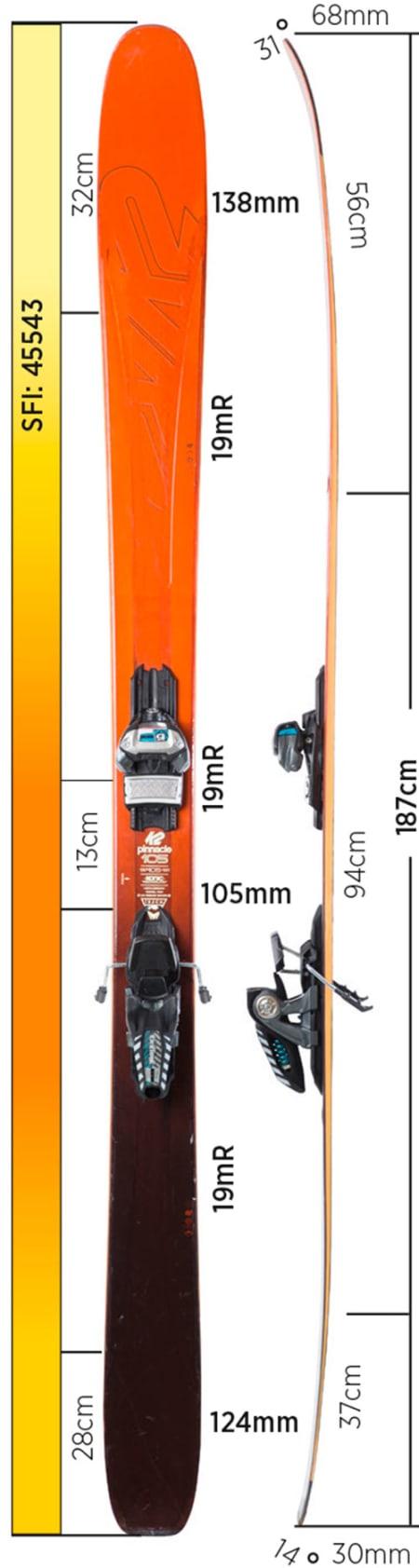 Test av K2 Pinnacle 105