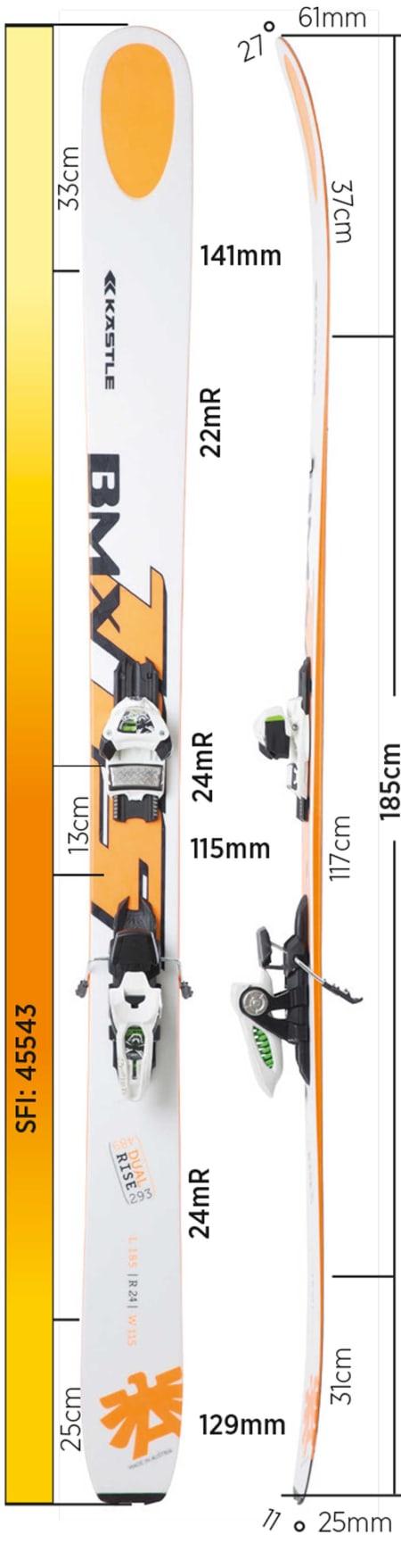 Test av Kästle BMX115 2016