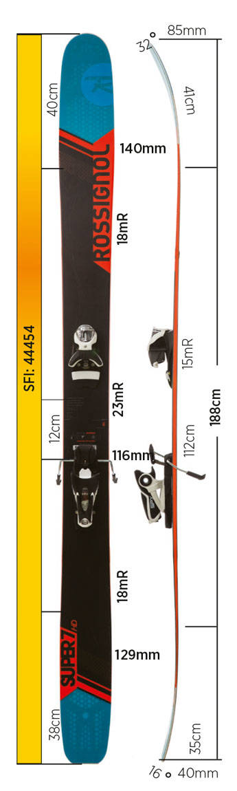 Test av Rossignol Super 7 HD 2017