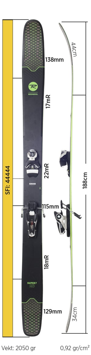 Test av Rossignol Super 7 HD