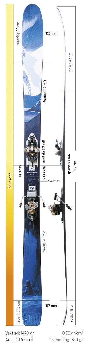 Test av SGN Jostedalen Carbon 2019