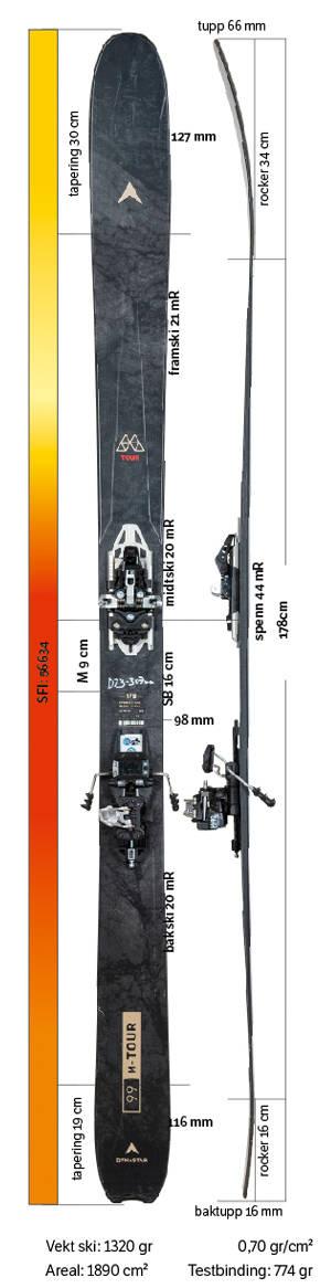 Test av Dynastar M-Tour 99 2021