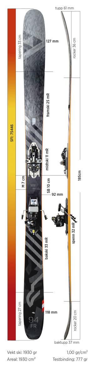 Test av Fischer Ranger 94 FR