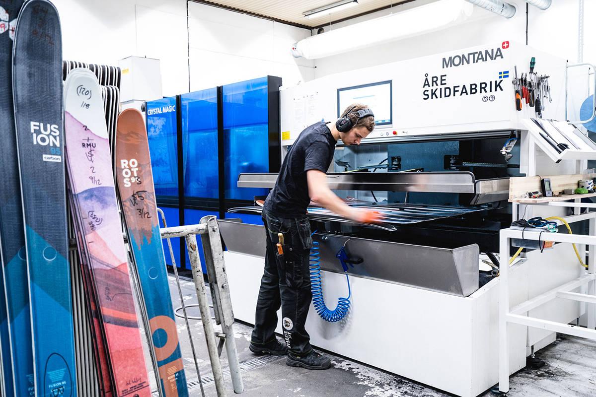 Åre Skidfabrik utvider