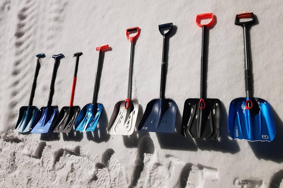 Spade topptur skredspade snøskredspade