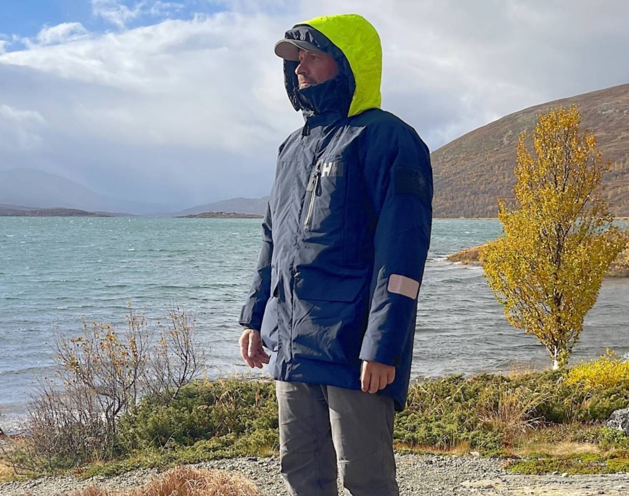 Helly Hansen Arctic Ocean parka varm jakke regntett