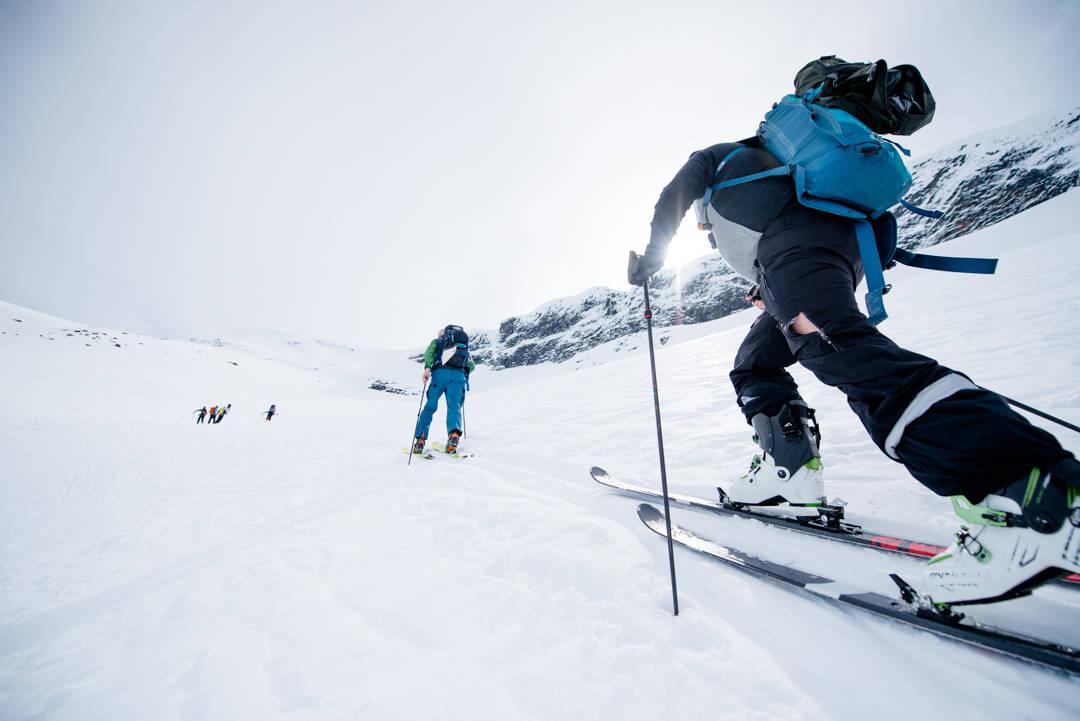 Skiutstyr toppturski lengde