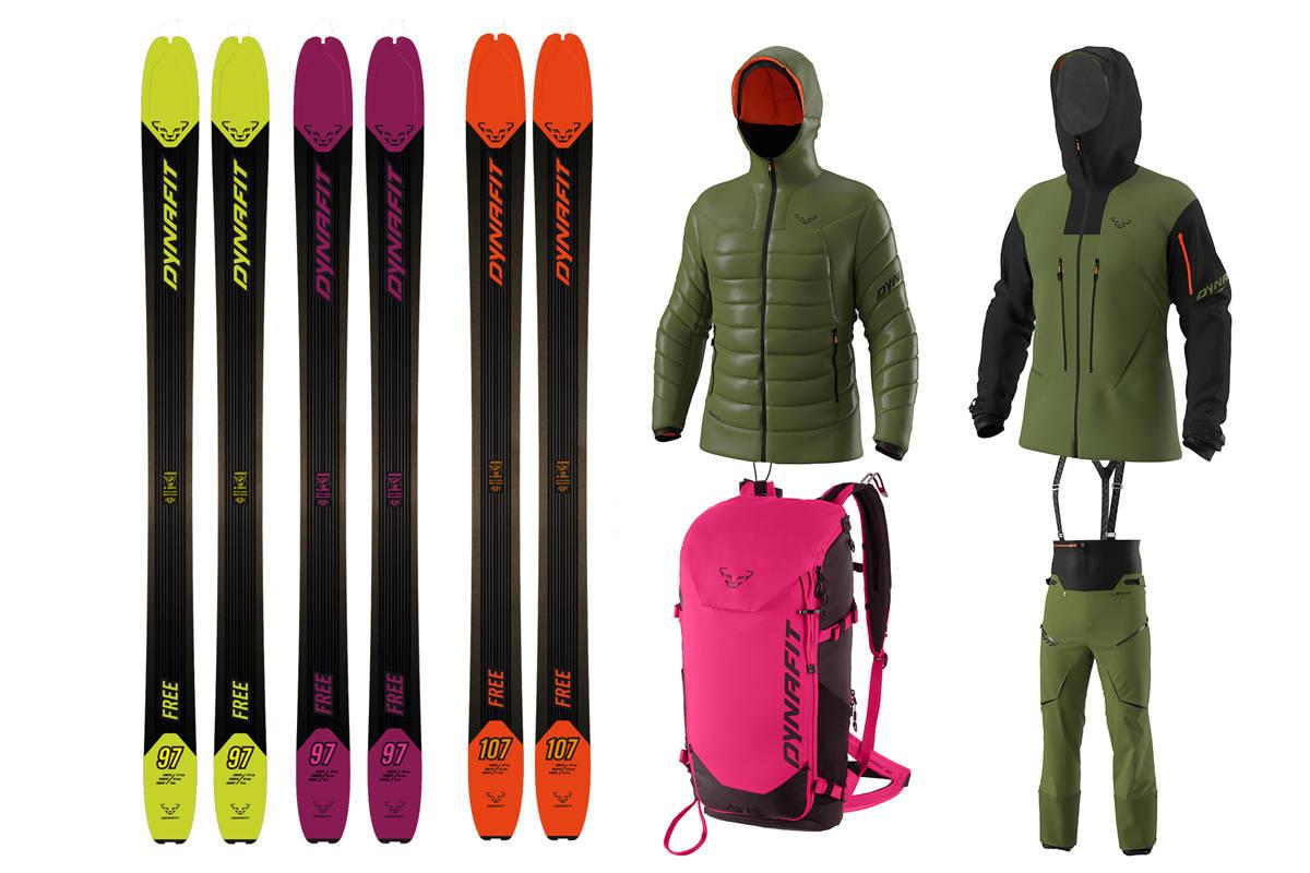 NY SERIE: Free er navnet på Dynafits nye serie med kjøreorientert toppturutstyr. Ski, sekker og bekledning er nytt i Free-serien, hvor også støvelen Hoji Free (som kom i fjor) er med