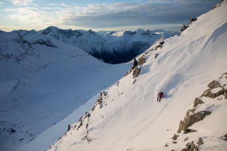 topptur frikjøring ski