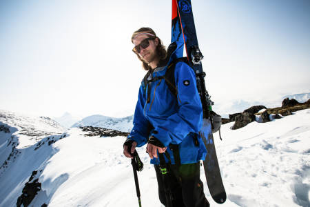 JAKKEN PASSER: For alt vi vet, så bruker Åsmund Thorsen fortsatt sin Sweet Supernaut-jakke fra 2014. Bilde: Christian Nerdrum