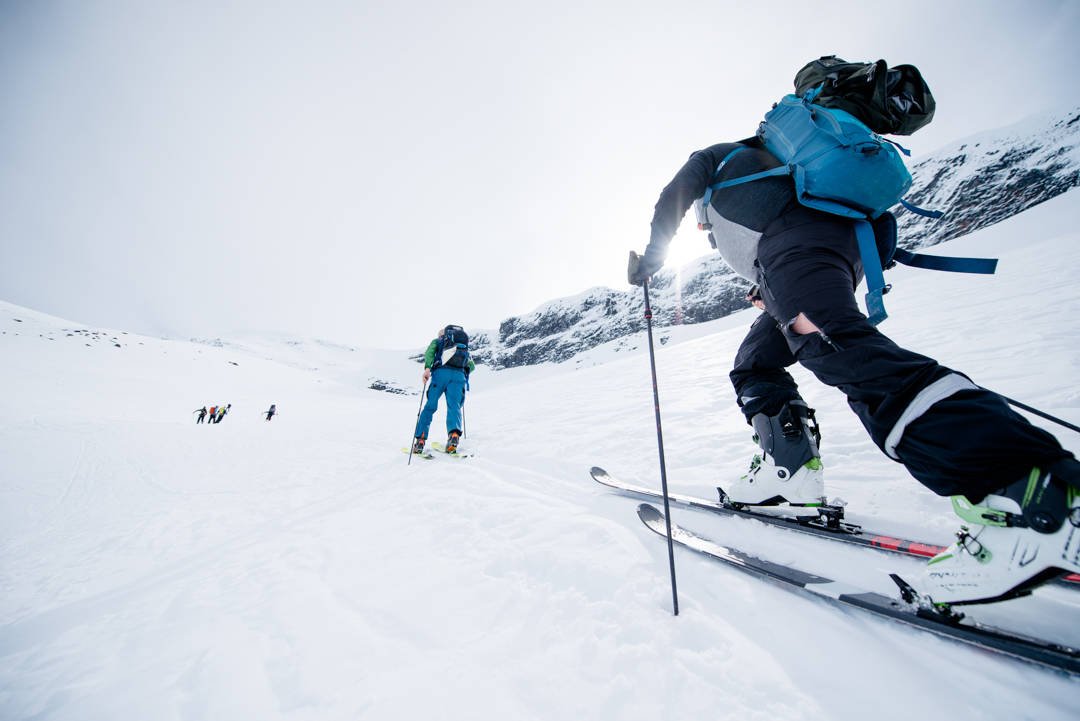 Skiutstyr frikjøring topptur