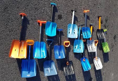 test skredspade spade