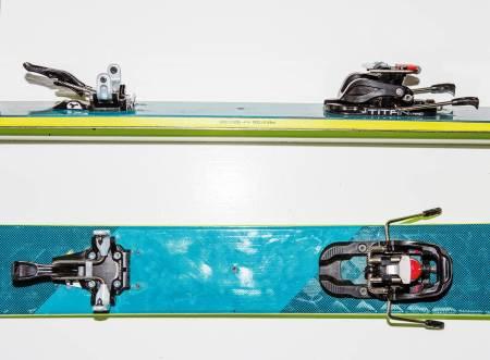 EKSKLUSIV: Hvis du syns det er verdt pengene, får du veldig god funksjon i Skitrabs nye toppturbinding. Bilde: Tore Meirik