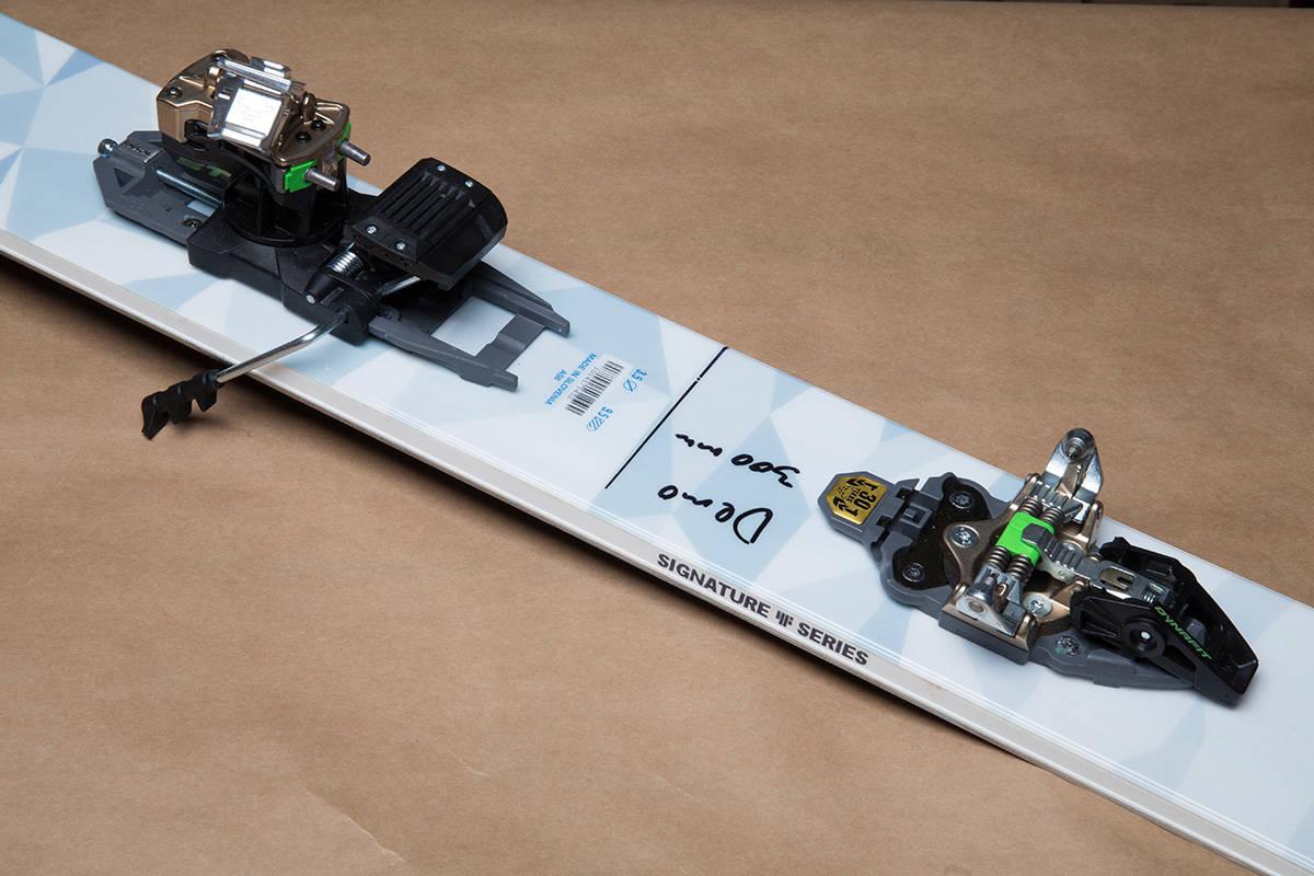 NYHET: Dette er oppfølgeren til den populære Radical-bindingen. Vi testet bindingen på et par 4Frnt Hoji i 187 cm. Foto: Hans Petter Hval