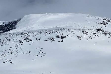 Snøskred Steindalsnosi