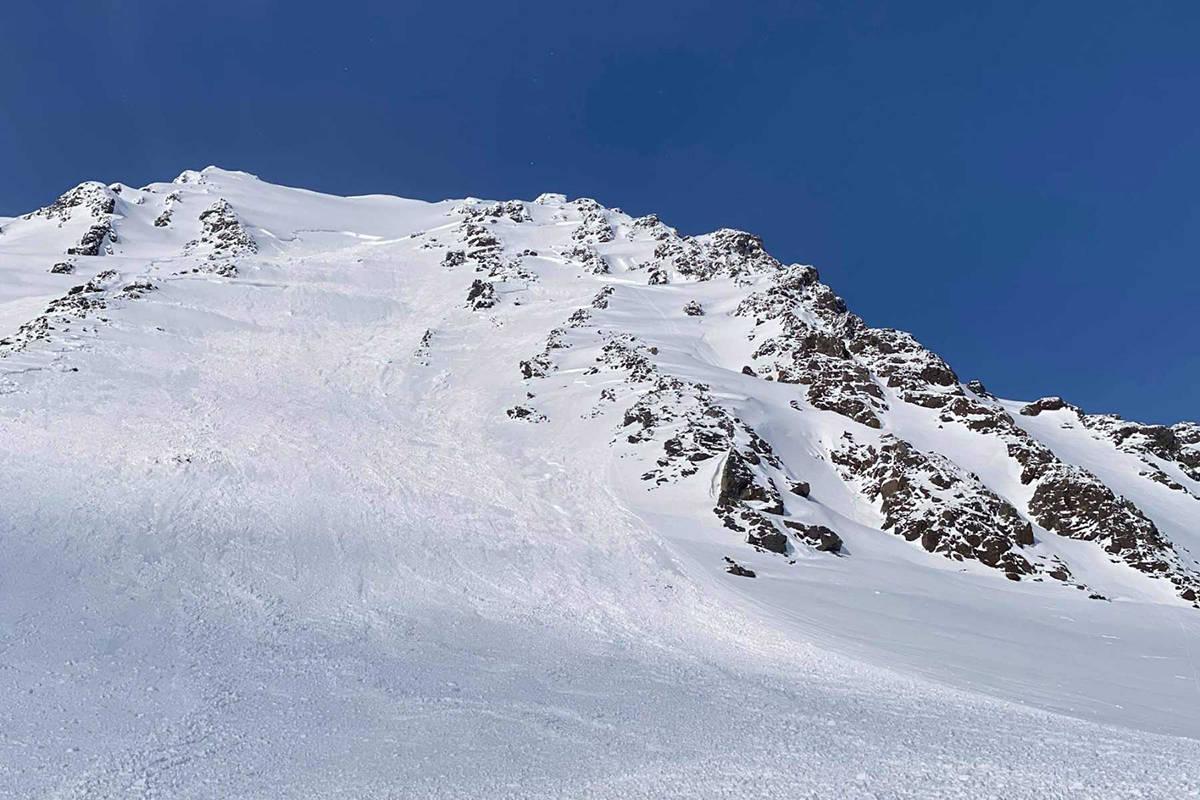 Snøskred Sofiatinden Lyngen