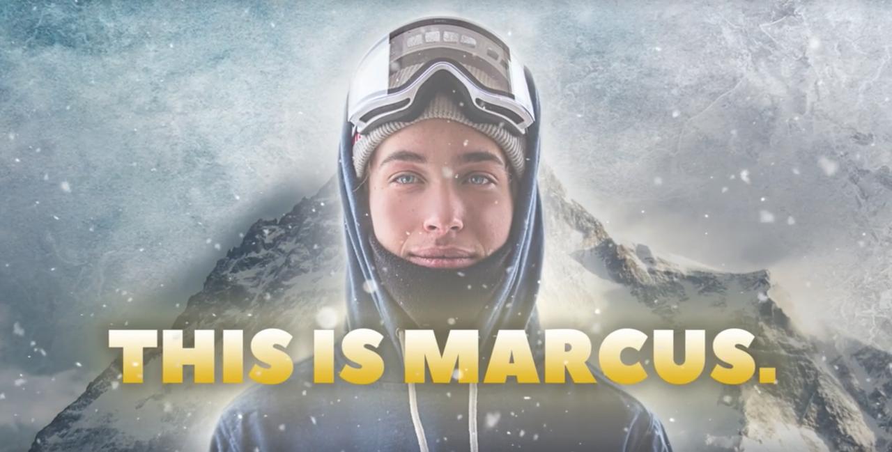 Marcus Kleveland har fått egen serie. Foto: Skjermdump