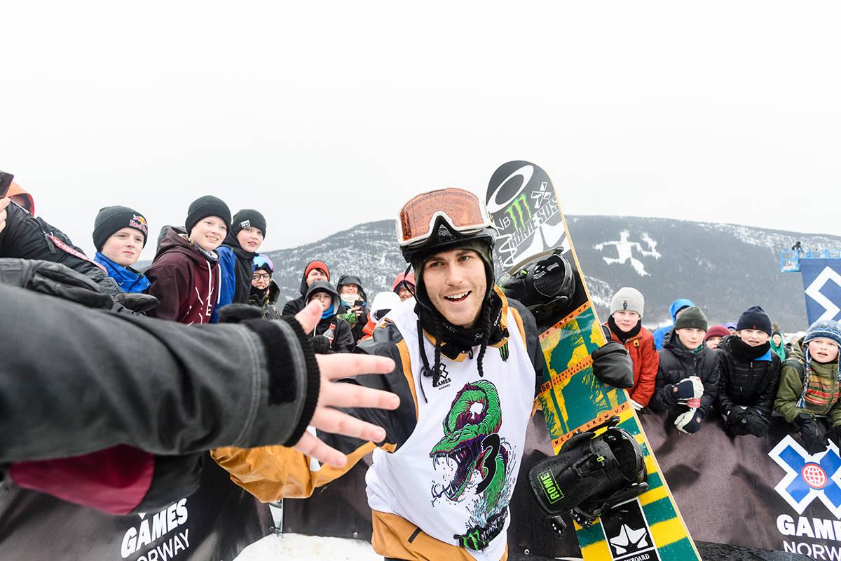 Ståle Sandbech snowboard